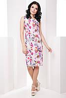 Классическое прямое женское платье больших размеров 7065/1, фото 1