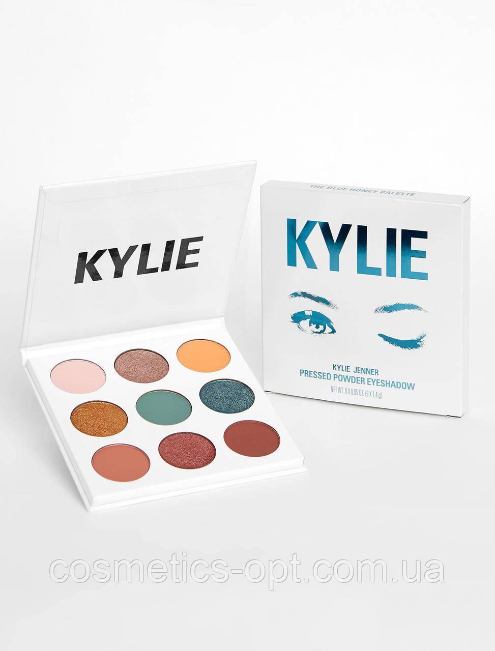 Тени для век Kylie THE BLUE HONEY PALETTE KYSHADOW (реплика)