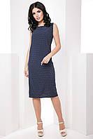 Классическое прямое женское платье больших размеров 7065/2, фото 1