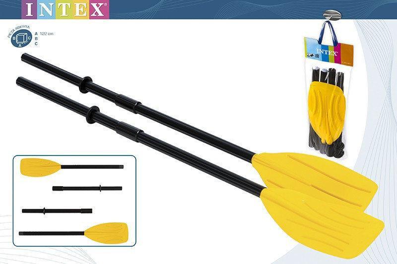 Весла для лодки пластиковые Intex 122см
