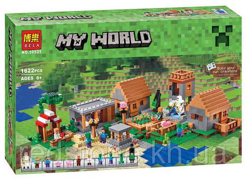 Конструктор Bela 10531 Деревня (Lego Minecraft 21128) 1622 дет.