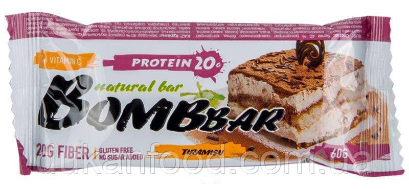 BomBBar протеиновый батончик ТИРАМИСУ