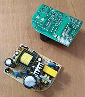 OPS1202-1 блок питания бескорпусной 12В/2А, пит.100-240В, 70х48х25мм, IP00, б/у, фото 1