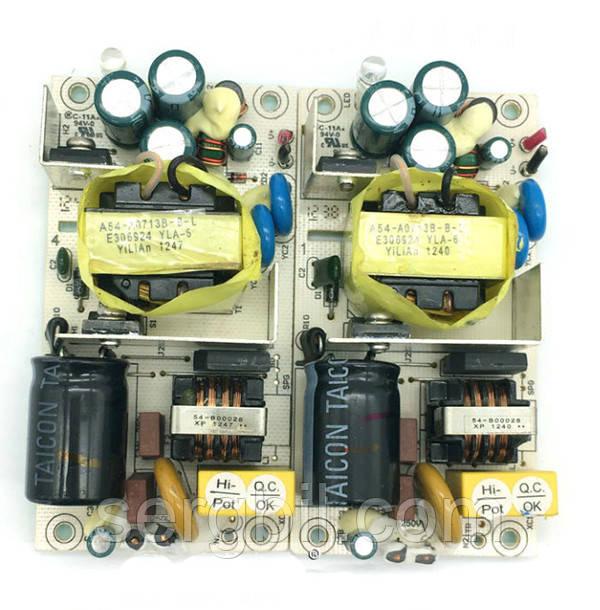 OPS2402-1 блок питания бескорпусной 24В/2А, пит.100-240В, 93х50х25мм, IP00, б/у
