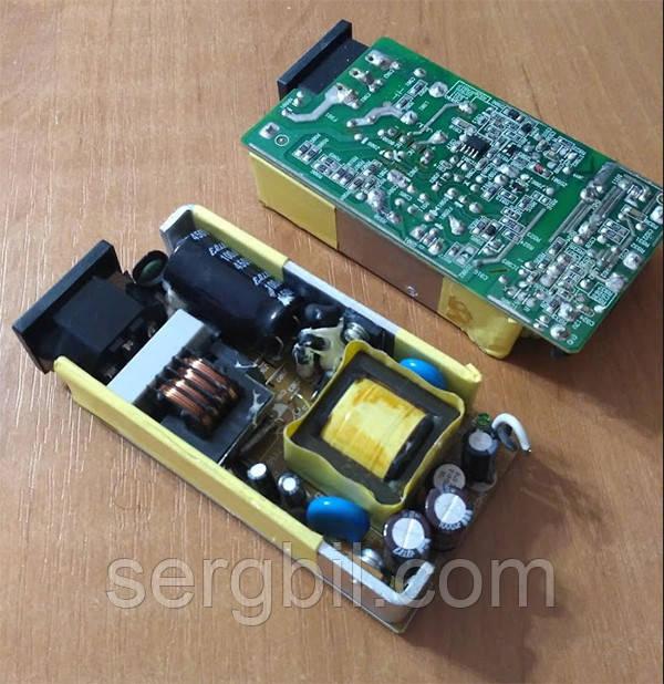 OPS1208-1 блок питания бескорпусной 12В/8А, пит.100-240В, 105х56х22мм, IP00, б/у