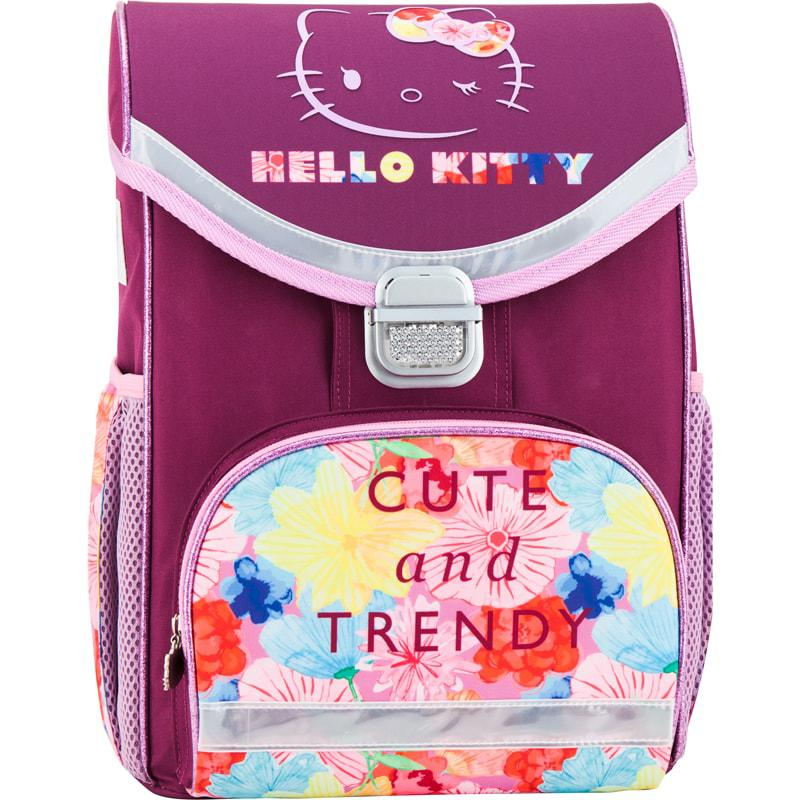 Рюкзак школьный каркасный 529 Hello Kitty