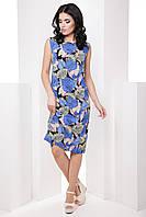 Классическое прямое женское платье больших размеров 7065/5, фото 1