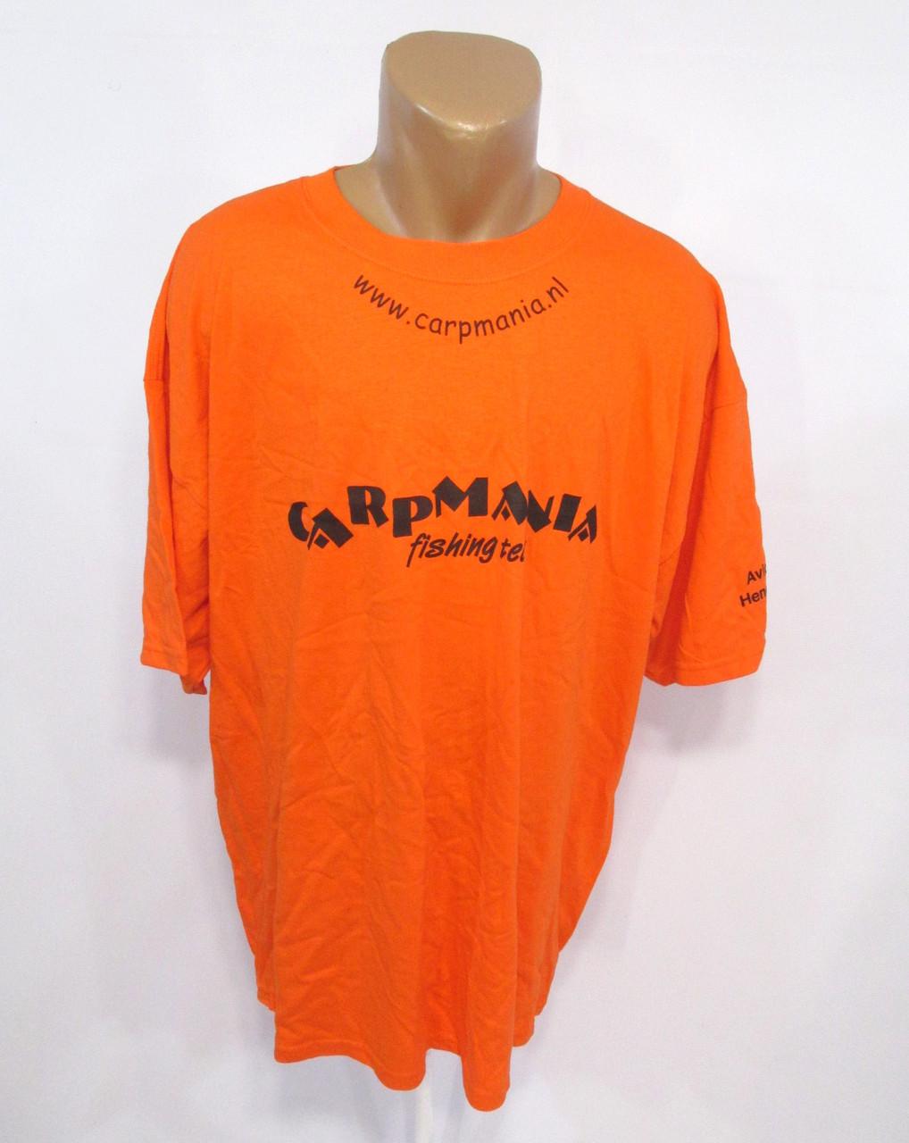 Футболка Gildan, 2XL, Ultra Cotton, Оранжевая, Как Новая!