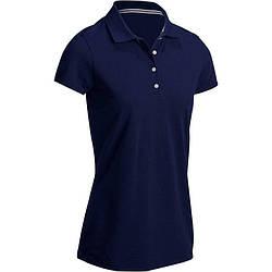 Поло футболка для гольфа Inesis 500 женская