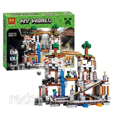 """Конструктор Bela 10179 (LEGO Minecraft 21118) """"Шахта"""" 926 дет."""