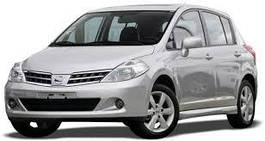 Фаркопи - Nissan Tiida