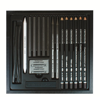 Набор карандашей для рисунка Black Box 20шт. дер упаковка Cretacolor