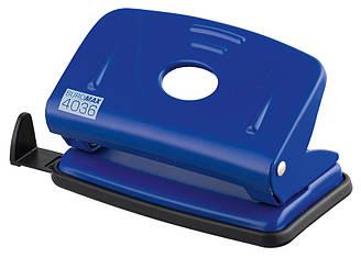 Дырокол 10 л Buromax металлический синий BM.4036-02