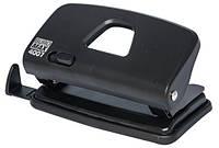Дырокол 10 л Buromax пластик чёрный BM.4007-01
