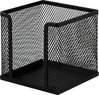 Куб для бумаги Buromax бокс 100х100x100мм метал. чёрный BM.6215-01