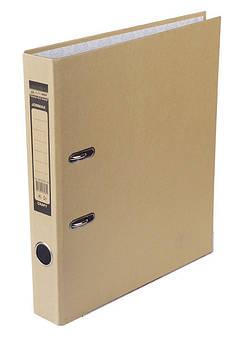Папка регистратор 5см Крафт Buromax одностор. А4 BM.3034-34c