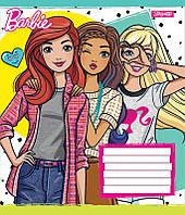 А5/12 кл. 1В Barbie Trend, тетрадь ученич.
