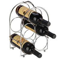 """Подставка для вина на 5 бутылок 20*19*29 см - (Польша) TM """"Tadar"""""""