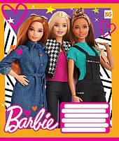 Тетрадь в линию 12 л. Yes А5 Barbie Dolls 762922