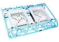 "Подставка для ноутбука до 17"" Notebook Cool Pad DCX-009, Blue"