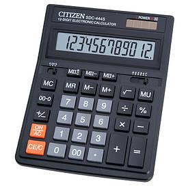 Калькулятор Citizen 12 разрядов SDC-444S