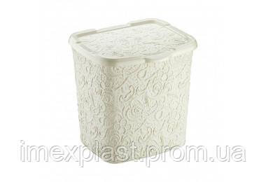 """Контейнер для стирального порошка 23*20*23 см- DM0492 (Турция) TM """"Elif Plastic"""""""