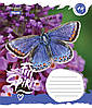 А5/18 лин. 1В Butterfly Spirit, тетрадь ученич.