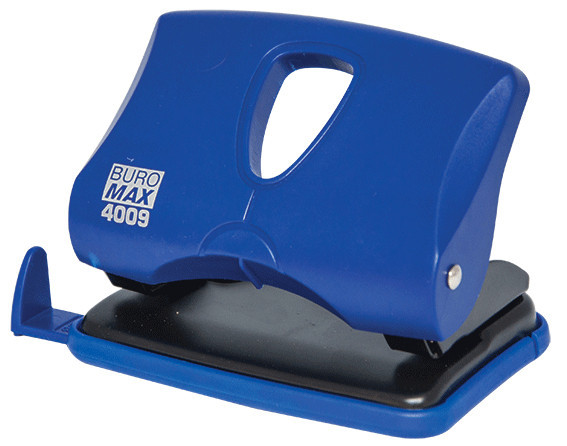 Дырокол 20 л Buromax пластик синий BM.4009-02
