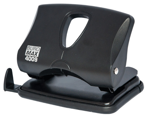 Дырокол 20 л Buromax пластик чёрный BM.4009-01
