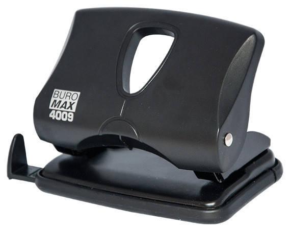 Дырокол 20 л Buromax пластик чёрный BM.4009-01, фото 2