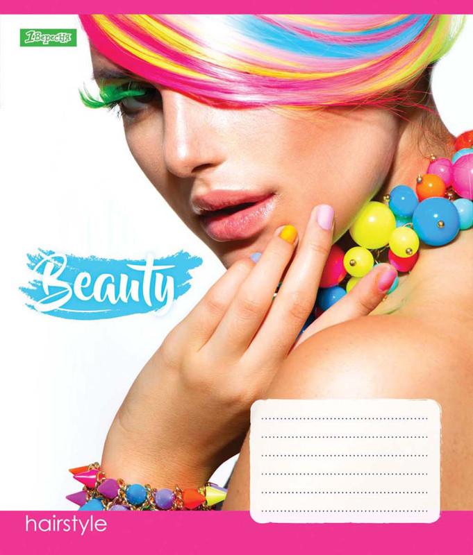 Тетрадь в линию 24 л 1 Вересня А5 Beauty микс 4 обложки (762525)