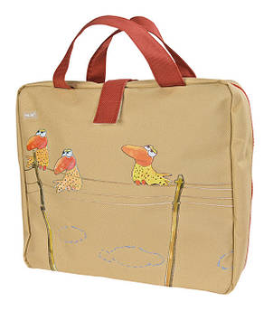 Мультипенал Milan Birds с наполнением ml.08863BI