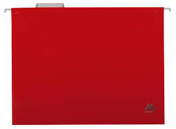 Подвесной файл А4 пластиковый красный