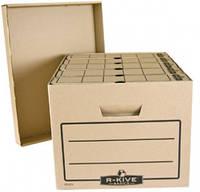 Короб для архивных боксов R-Kive Basics коричн.