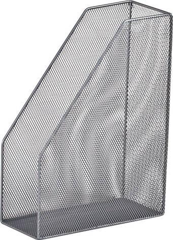 Лоток вертикальный 80x230x300мм металлический серебро, фото 2