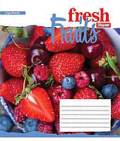 А5/48 кл. 1В Fruits-2018, тетрадь ученич