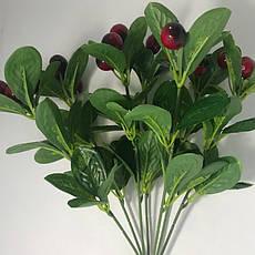 Искусственный куст с ягодами.Декоративный боярышник., фото 2
