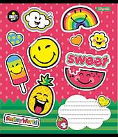 А5/48 кл. 1В Smile Sweet, тетрадь ученич