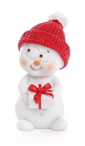 Новогодняя фигурка Снеговик 5см 4 вида (559-320)