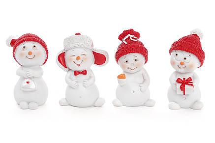 Новогодняя фигурка Снеговик 5см 4 вида (559-320), фото 2