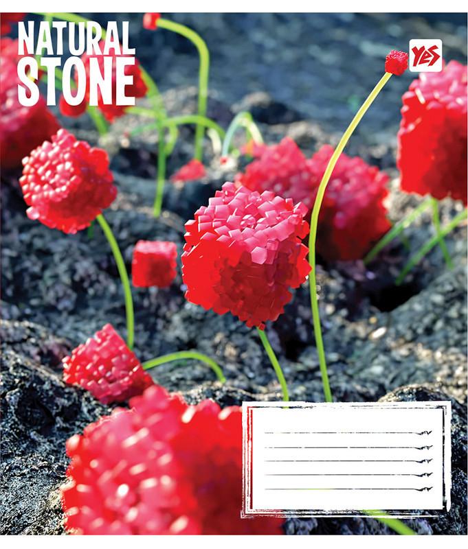Тетрадь в клетку 48 л. Yes А5 Natural stone 762048