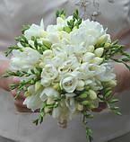 Букет из фрезий для невесты, фото 2