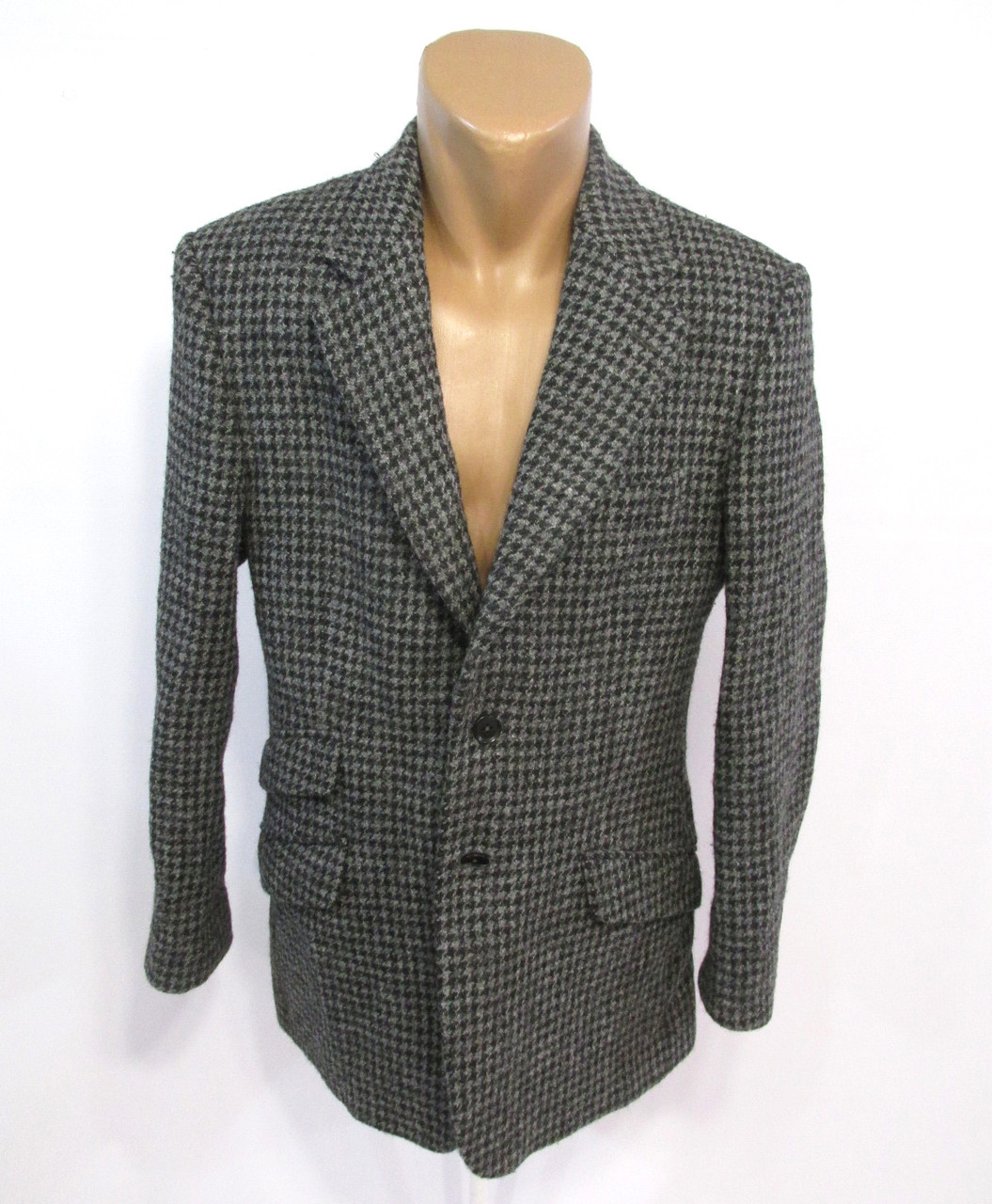Пиджак твидовый Charles Tyrwhitt, Harris Tweed, 38R, на М, Как Новый!