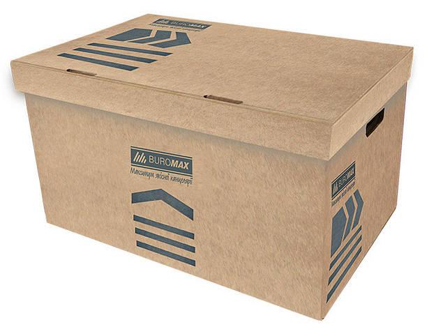 Короб для архивных боксов Buromax крафт Jobmax (BM.3270-34), фото 2
