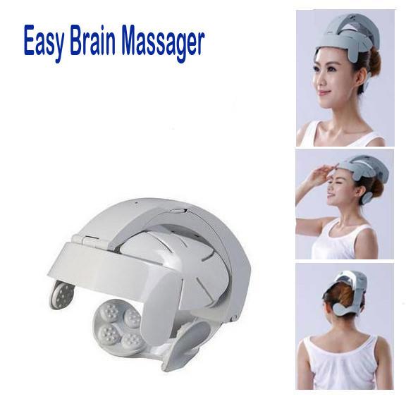 Массажный шлем для головы массажёр Easy Brain Massager.