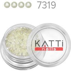 KATTi Жемчуг банка смола Pearls 7319 beige 2мм 0,6g 250шт