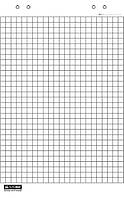 Блок бумаги для флипчартов Buromax 10 листов 64 х 90 см BM.2294