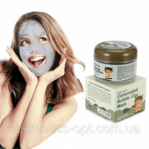 Маска для лица BIOAQUA Carbonated Bubble Clay Mask