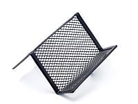 Подставка для визиток Axent 95x80x60мм метал черная 2114-01-A