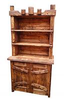 Буфет Корона вінтажний під старину дерев'яний